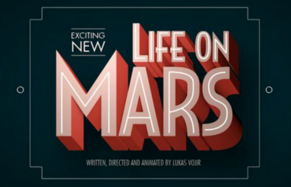 Short retrofuturistic newsreel about colonization of Mars. Lukas Vojir. Life on Mars
