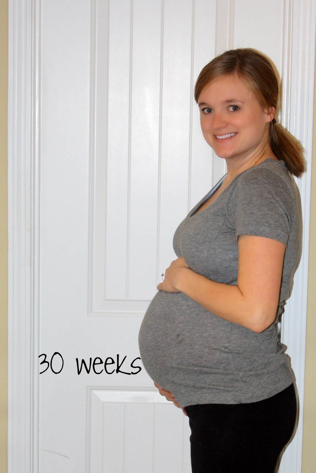 30 Weeks Pregnant Weight Gain