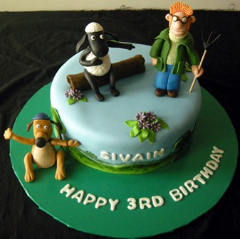 Shaun The Sheep Birthday Cake Ideas Best Gift Blog