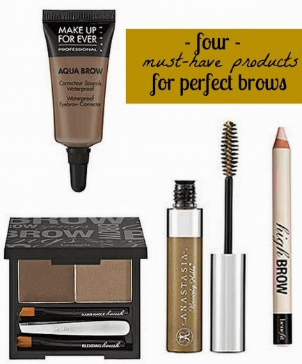 must have products for perfect brows