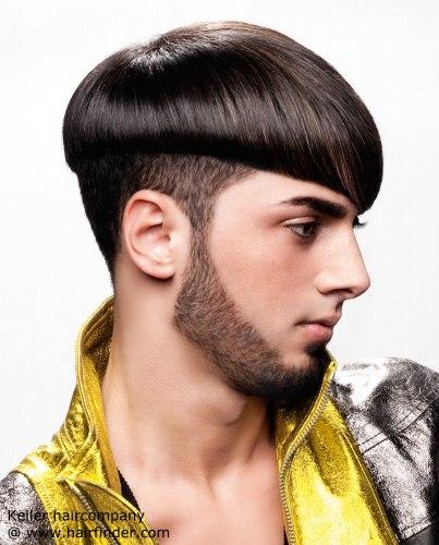 Cortes de pelo liso para hombre