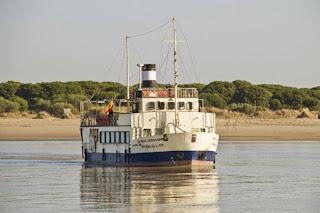 buque real fernado en el coto doñana