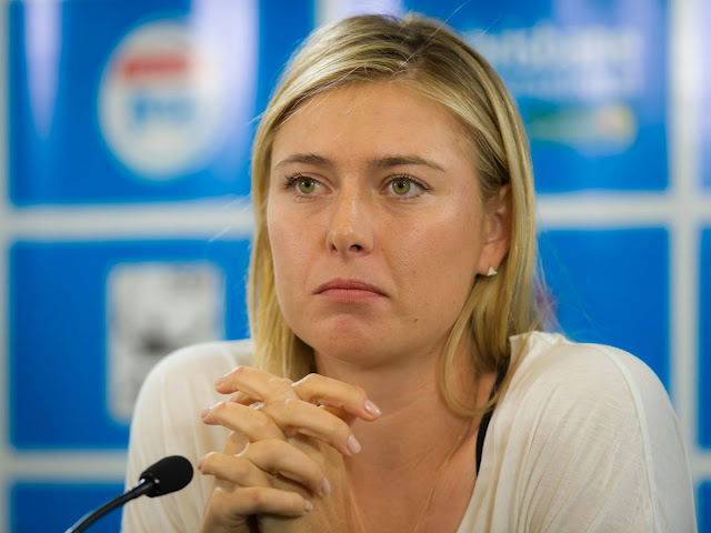 Tennis players, @ Maria Sharapova talks to the media at the 2016 Brisbane International