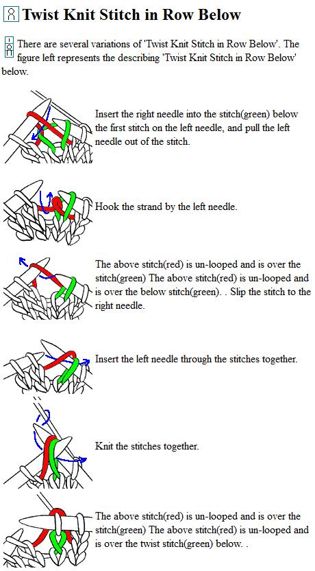 Knitting Stitch Chart Symbols : Tutorial videos: Japanese Knitting Symbols Knitting Unlimited