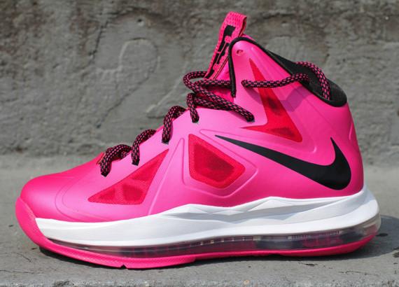 nbawiz news nike lebron x fireberry pink colourway