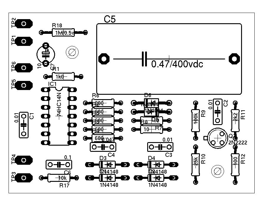 schematic  esr sederhana