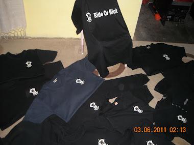 Pengerjaan Logo T'shirt untuk Club