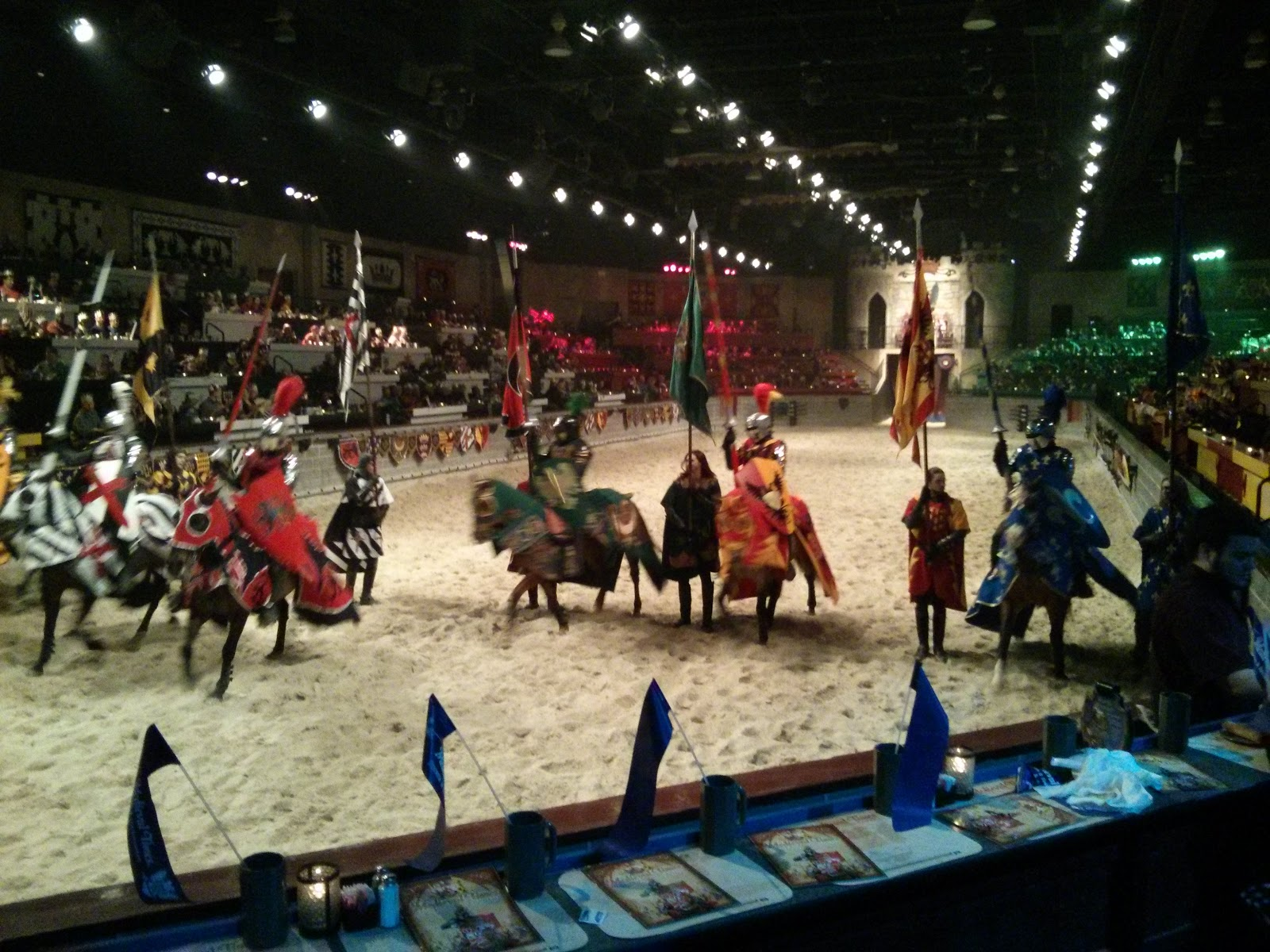 Set in Medieval Spain, a king and his court present falconry, chivalry, equestrian demonstrations, jousting, and dismounted combat with swords, axes and maces while servers keep the food and drink flowing. Arundel Mills Cir Hanover, MD Get Directions. Phone number () Medieval Times Dinner & Tournament says 4/4().
