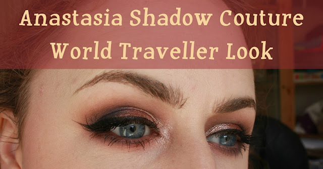 Anastasia Shadow Couture World Traveller palette