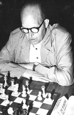 Ángel Ribera en el Campeonato de España de Ajedrez de 1970