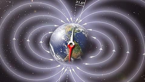 La Tierra se  debilita a gran velocidad