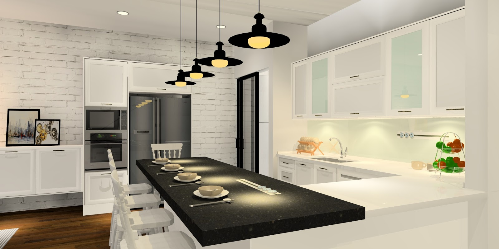 ... Contemporary Charm Kitchen Design · 6 Practical Wet And Dry ... Part 68