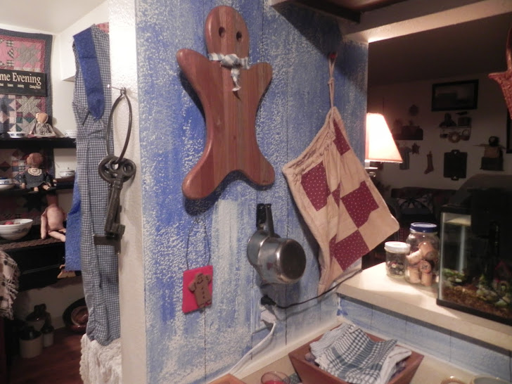 Ginger bread cutting board