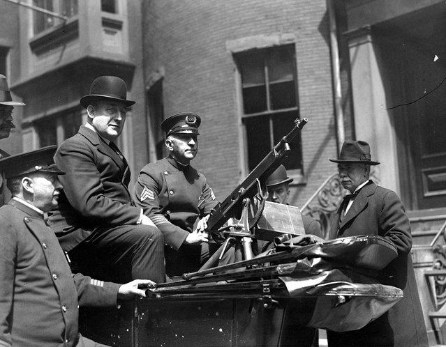 Старые фотографии: Бостонская полиция