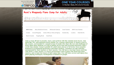 Rami's Rhapsody Piano Camp for Adults in upstate NY. A week of learning & fun through piano playing. A group of people who share the joys and challenges of being adult piano students. Piano players of all levels are welcome, from students to professional piano teachers.