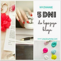 Blogowe wyzwanie Uli