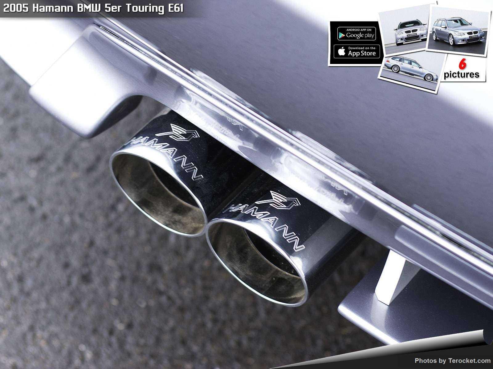 Hình ảnh xe ô tô Hamann BMW 5er Touring E61 2005 & nội ngoại thất