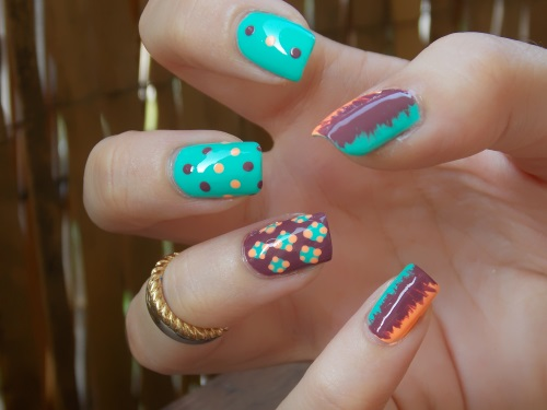 mix match caicos nail art blog beauté psychosexy