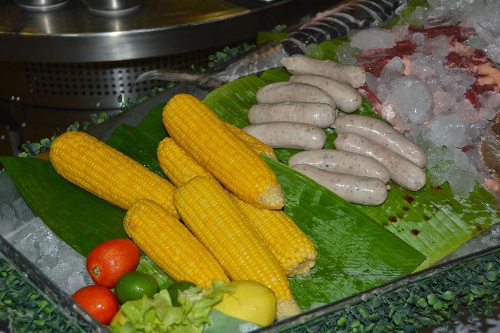 Bimi Beach Club Barbecue Phuket corn