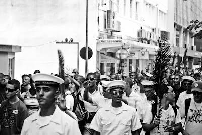 Marcha em Florianópolis, um exemplo de fotojornalismo hoje - por Fabiano Trichez