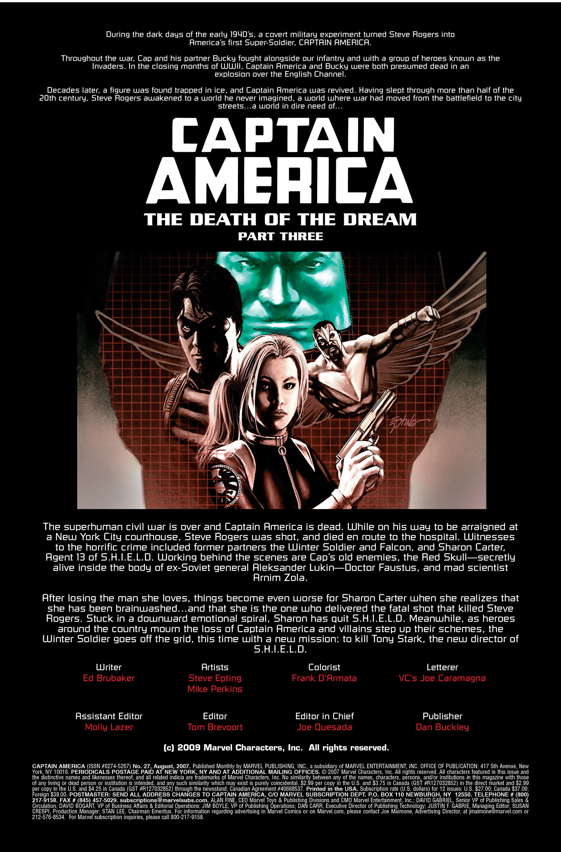 Captain America (2005) Issue #27 #27 - English 2
