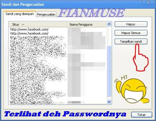 Trik Cara Mengetahui Password Facebook Teman Dengan Google Chrome