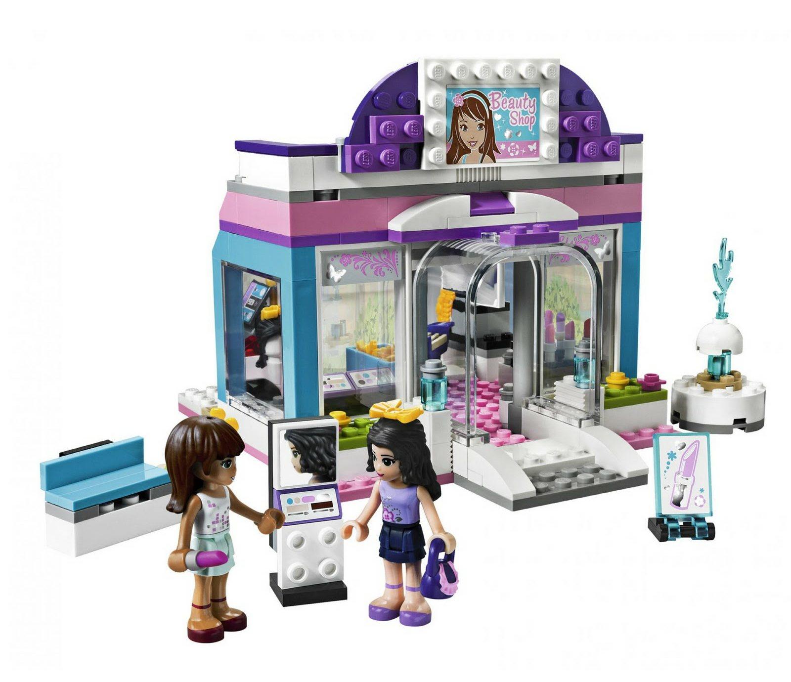 Toys For Friends : Brick friends lego butterfly beauty shop