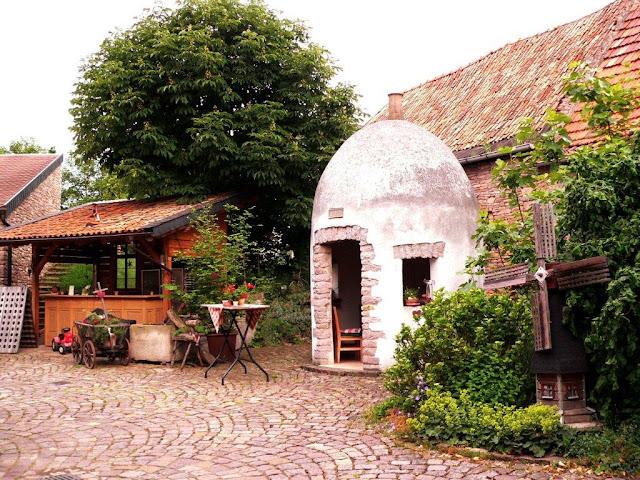 Camping Urlaub Landvergnügen Weingut Alte Schmiede Trullo