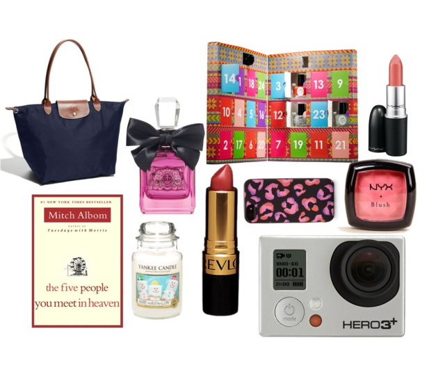christmas, 2013, presents, kate spade, longchamp, bag, perfume, juciy, ciate, nail polish, NYX, Santa