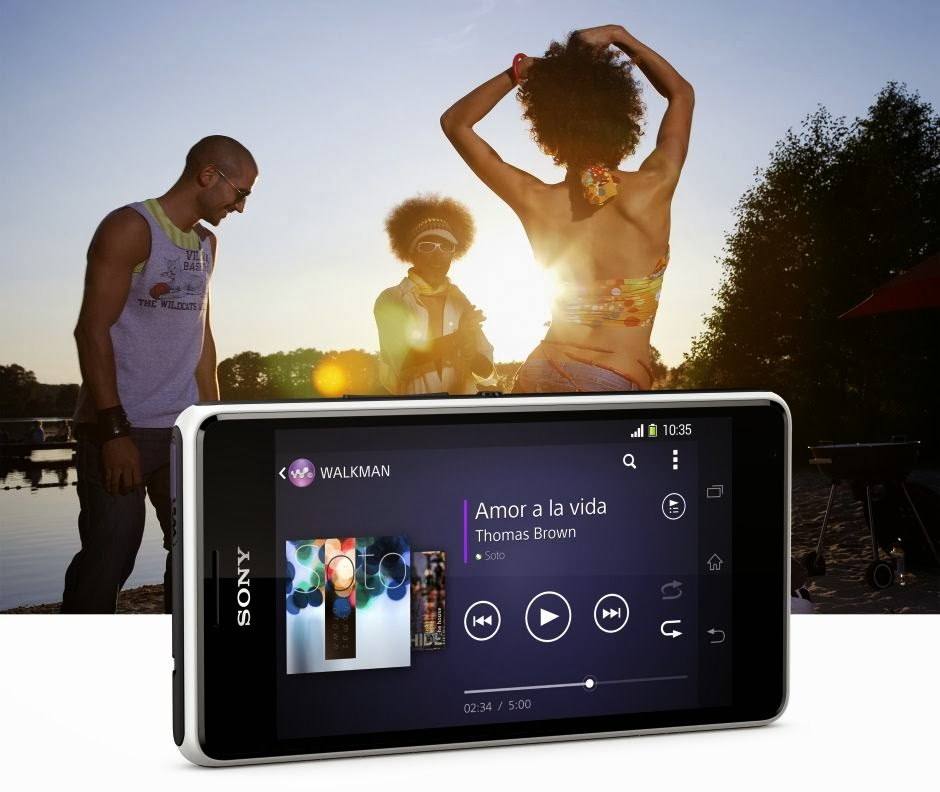 Gambar Sony Xperia E1