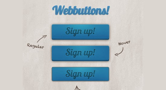 Web buttons