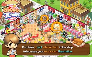 Game Happy Chicken Town