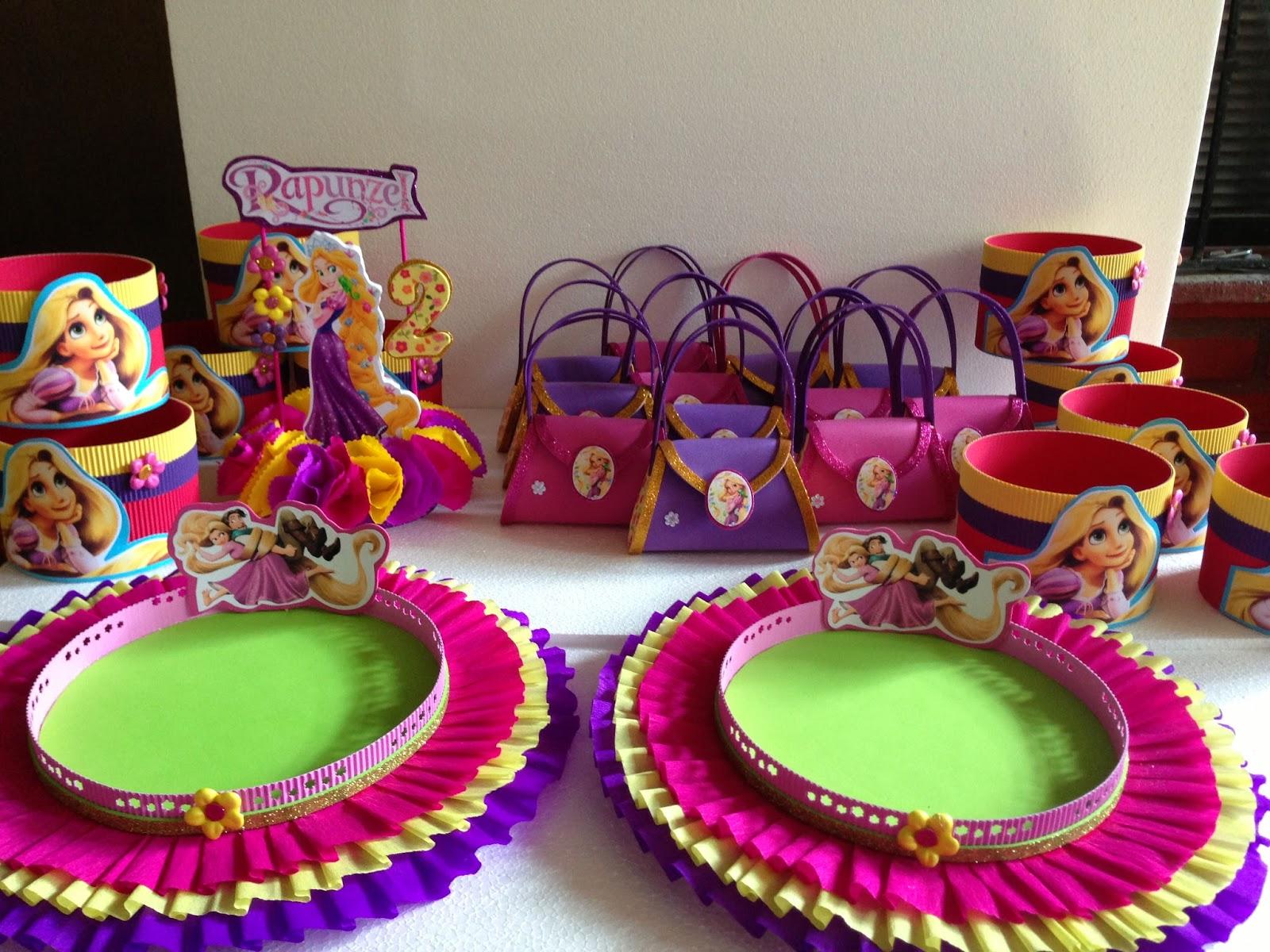 Decoracion Rapunzel Disney ~ DECORACIONES INFANTILES rapunzel enredados