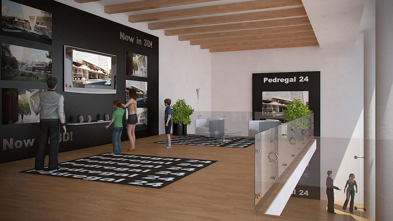 Arquitectura virtual showroom pedregal 24 for Arquitectura virtual