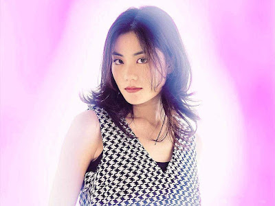 Faye Wong Purple Color Wallpaper