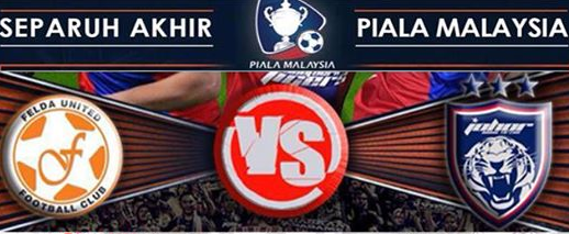 Video Gol Felda United Vs JDT 20 Oktober 2014 Piala Malaysia