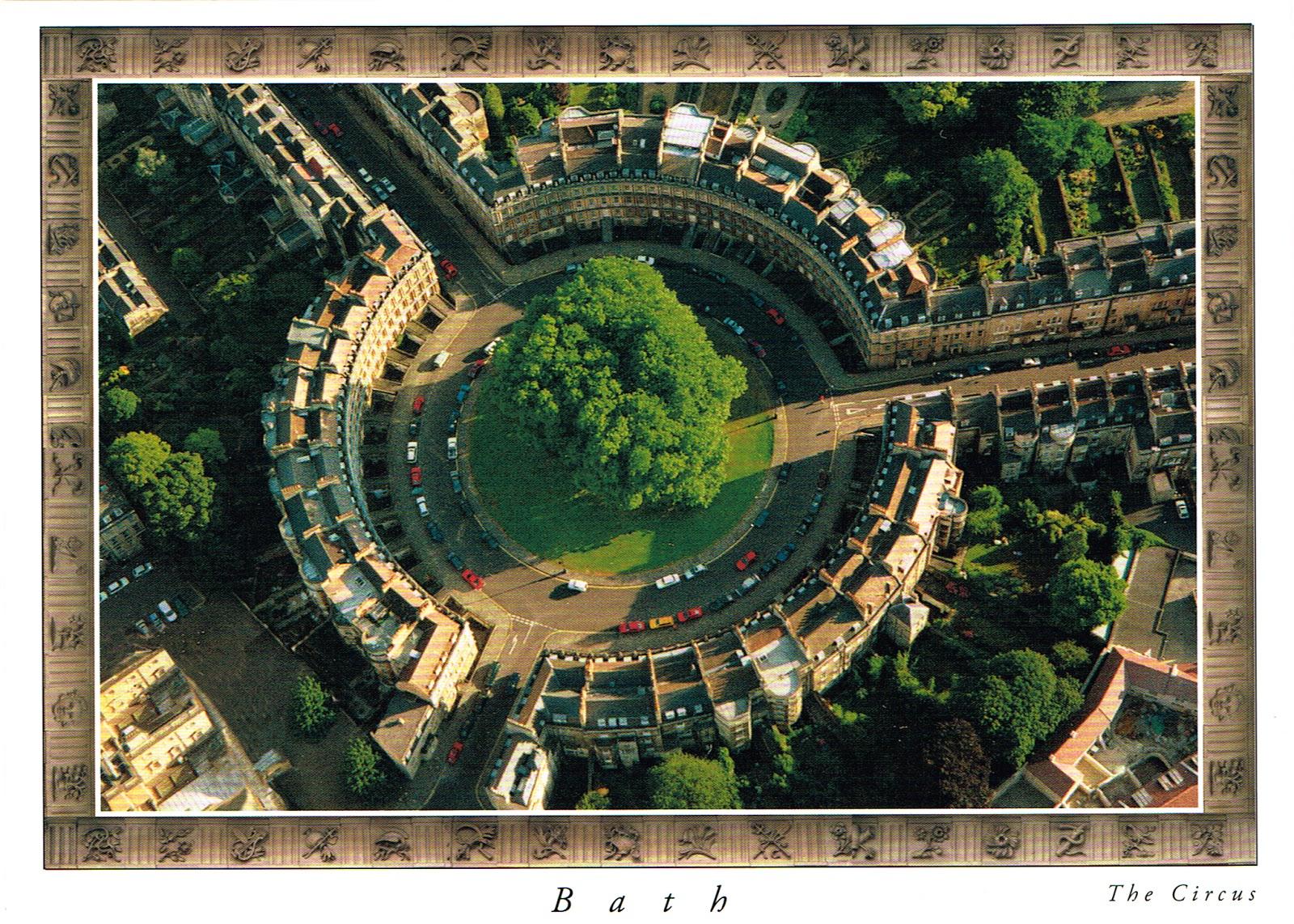 Postcard Diary: Bath spa | England