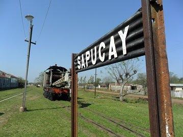 sapucai estación del ferrocarril
