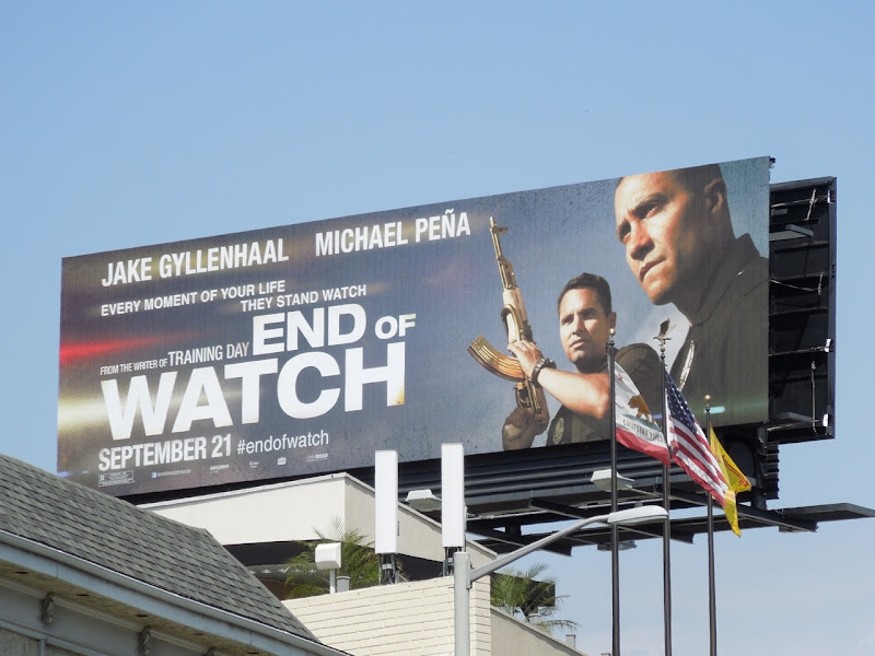 End Watch movie billboard