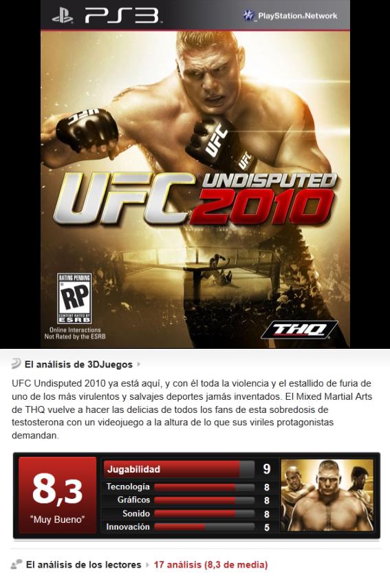 UFC Undisputed 2010 [PS3][Multi][3.55]