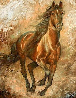 caballo-pintura-al-oleo