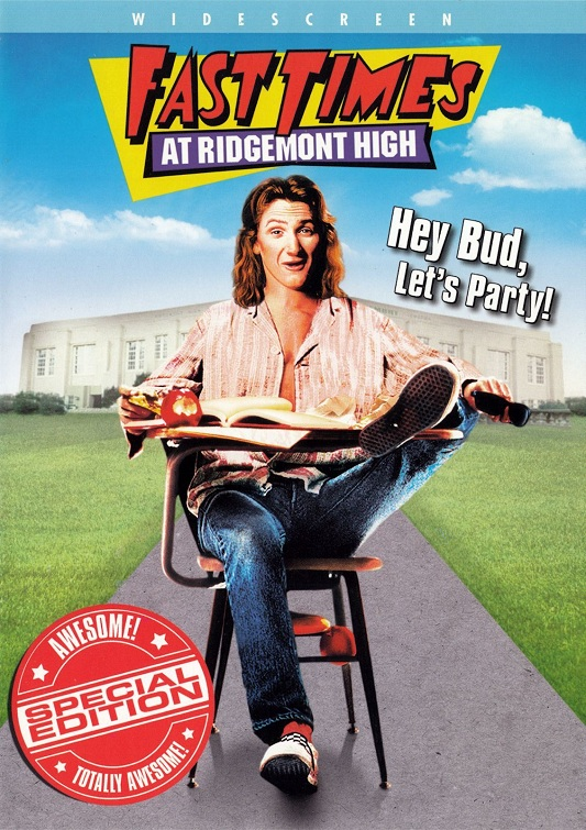 Fast Times at Ridgemont High 1982 DVD-R NTSC WS Eng / Latino
