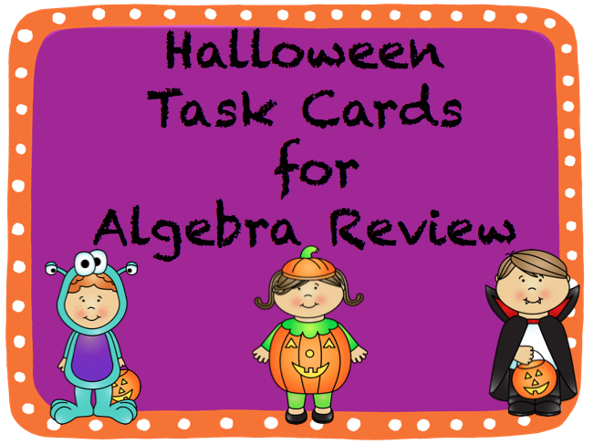 math worksheet : teaching high school math fun halloween middle and high school  : Halloween Math Worksheets Middle School