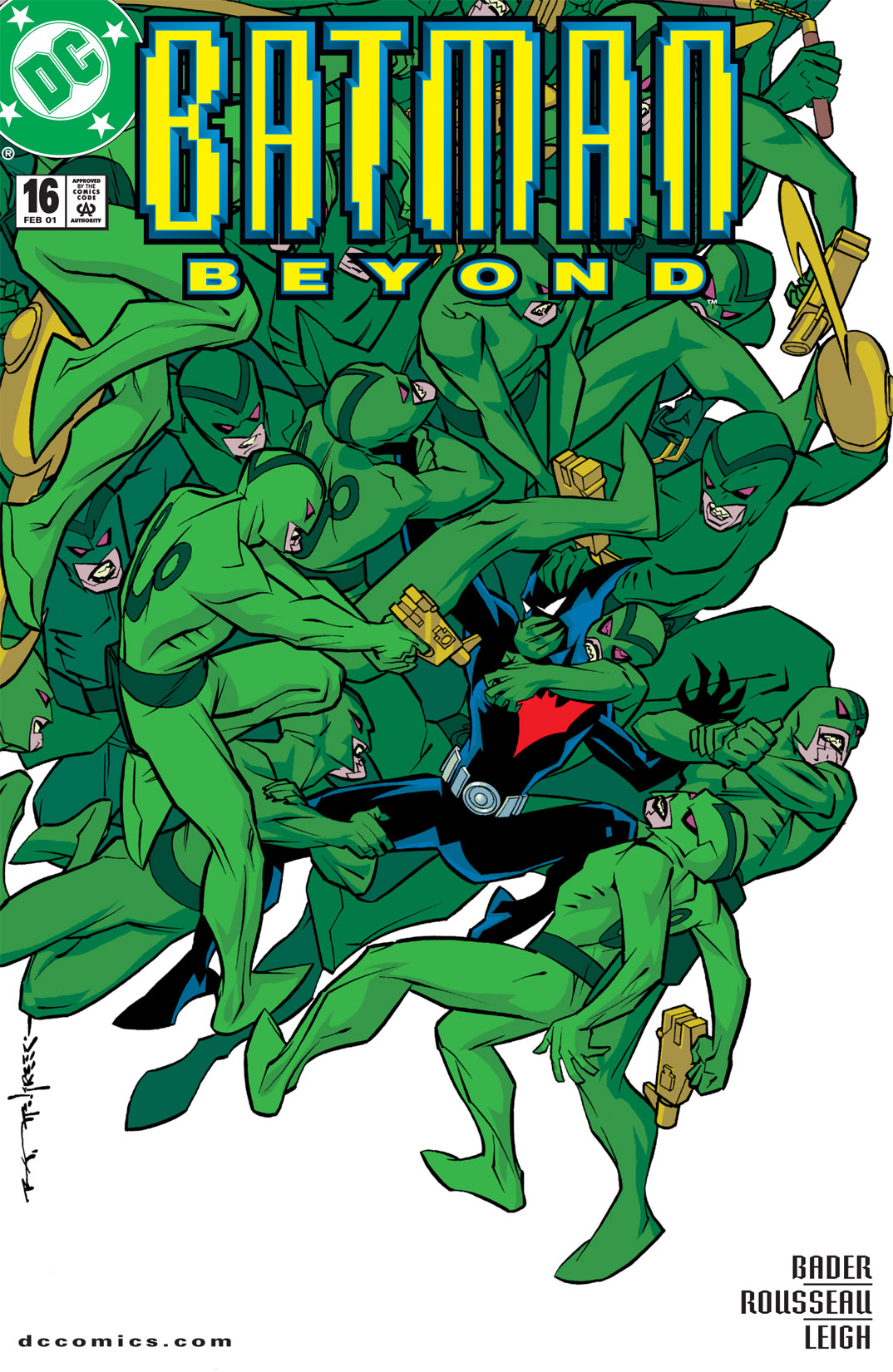 Batman Beyond [II] Issue #16 #16 - English 1