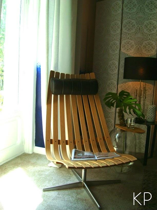 butaca de diseño en madera cuero y acero valencia madrid