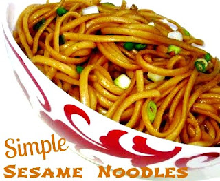 Cooking with K: PW Simple Sesame Noodles