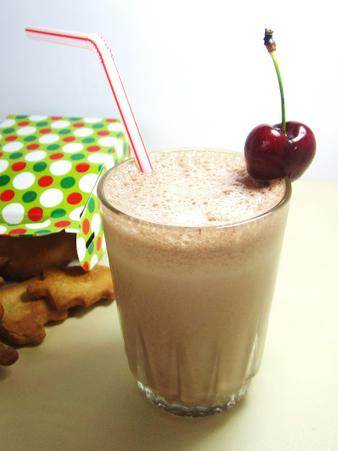 milkshake de chocolate