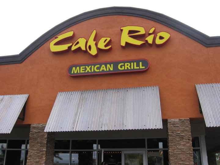 Cafe Rio Price Utah