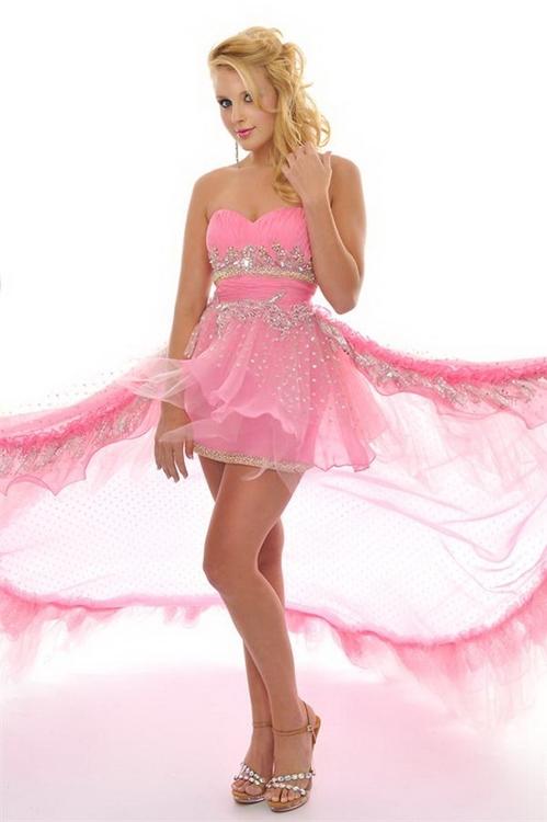 2013 pembe renk elbise modelleri 10 - en güzel pembe renk elbise modelleri