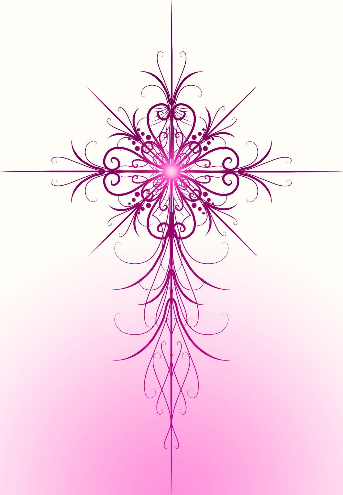 Decorative Cross Outline Decorative cross